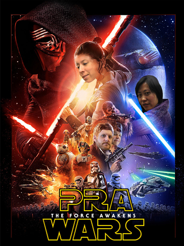 PRA Wars card