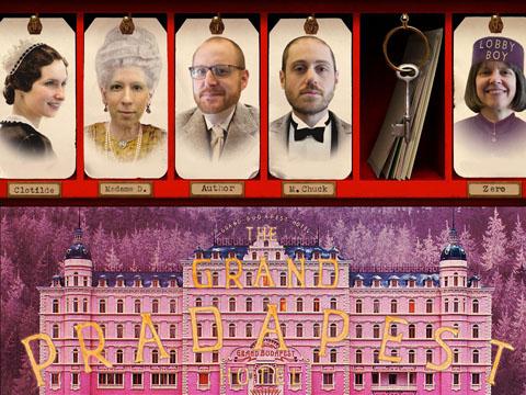 Grand PRAdapest Hotel card