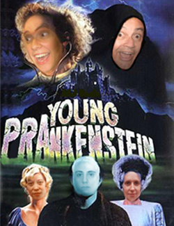 Young PRAnkenstein card