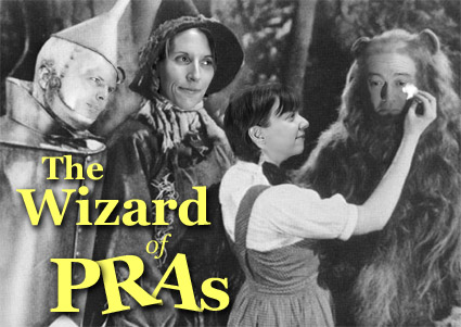 Wizard of PRAs card